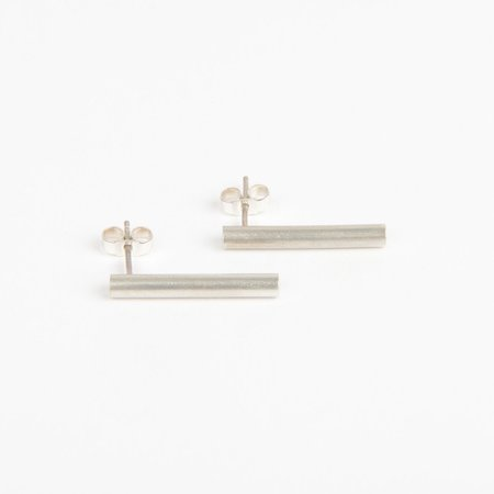 Béton Brut Pillar earrings - SILVER