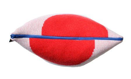 Giannina Capitani Forma cushion - Red/Black