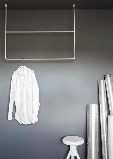 Annaleena Rectangle rail - white