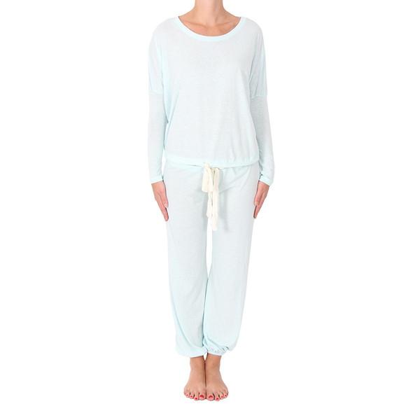 Eberjey Heather Blue Pajamas