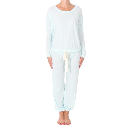 Eberjey Heather Blue Pajamas