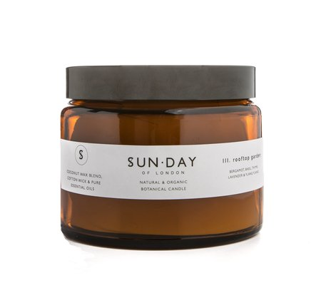 SUN.DAY of London Three Wick Candle - Midnight Somewhere
