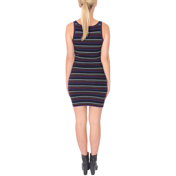 T By Alexander Wang Fitted Merino Cami Dress