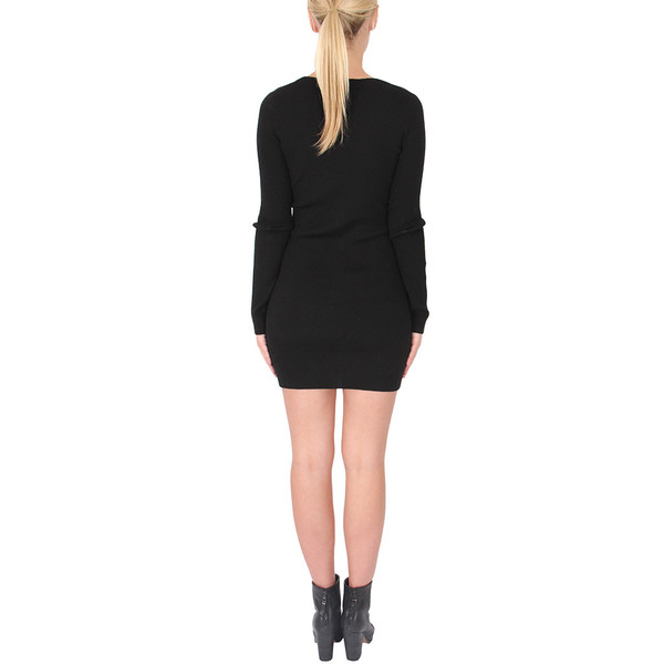 T By Alexander Wang Fitted Merino Cardigan