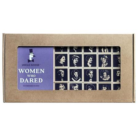 KIDS Art Import Women Who Dared Wooden Blocks Set