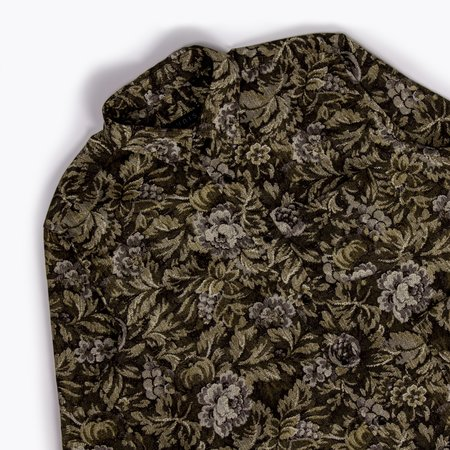 Unis Adam Shirt - Olive Floral