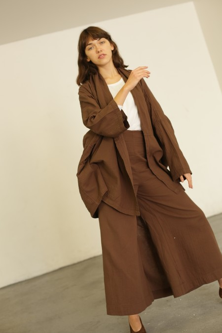 Atelier Delphine Pippa Culotte - Raw Umber