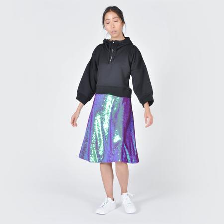 Peter Jensen A-Line Sequin Skirt - Multi