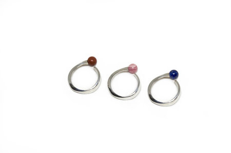 Neal Verge Ring - Sterling Silver
