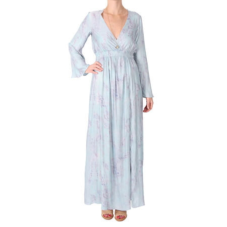 LOVESHACKFANCY Long Sleeve Maxi Dress