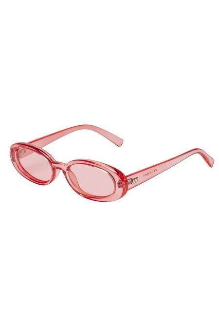 Le Specs Outta Love Sunglasses - Coral