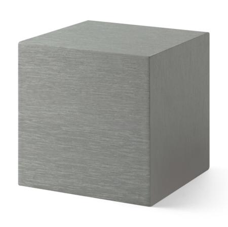 MOMA Alume Cube Clock