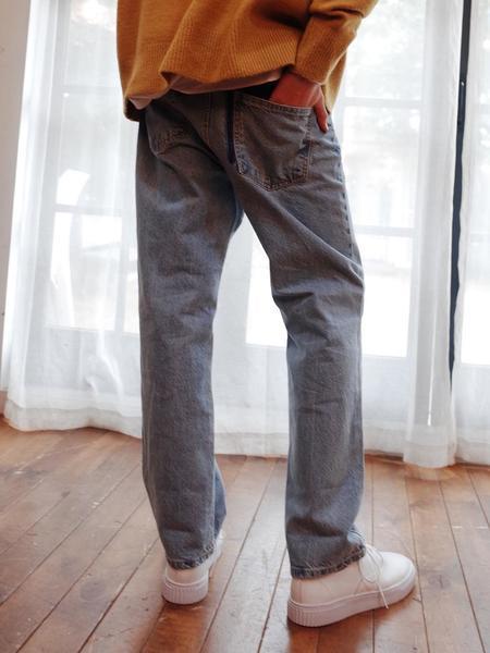 EVANLAFORET Man Denim Pants - Blue