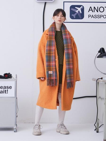 Another A Oversized Coat - Orange