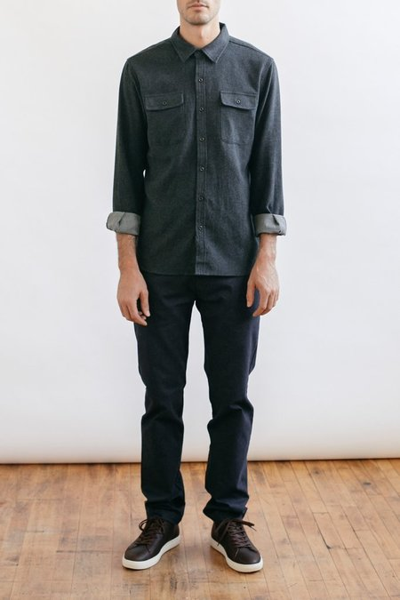 Bridge & Burn Cole Button up - CHARCOAL