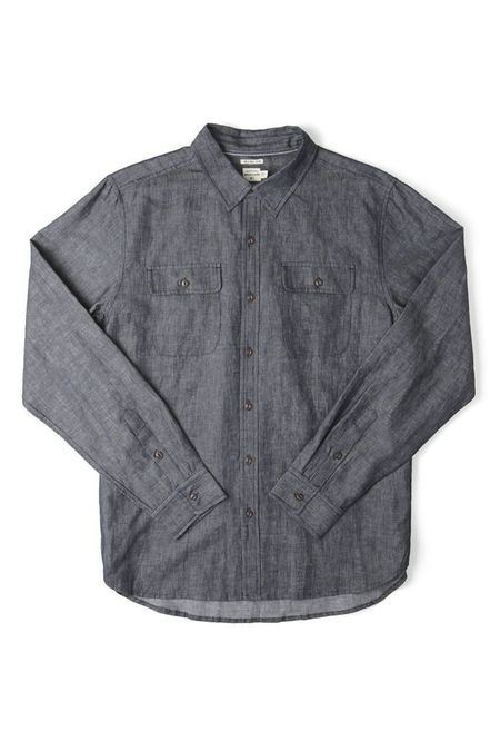 Bridge & Burn Cole Button up Shirt - Engineer Stripe