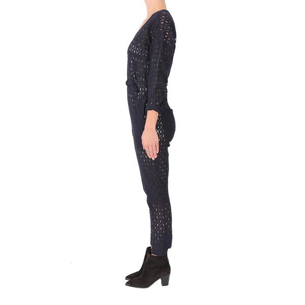 Rachel Comey Navy Lace Jumpsuit