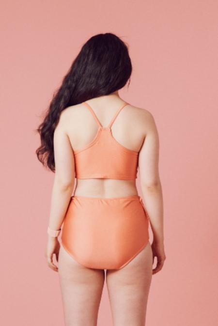Samantha Pleet Vortex Bikini Top - Fruits & Fairies