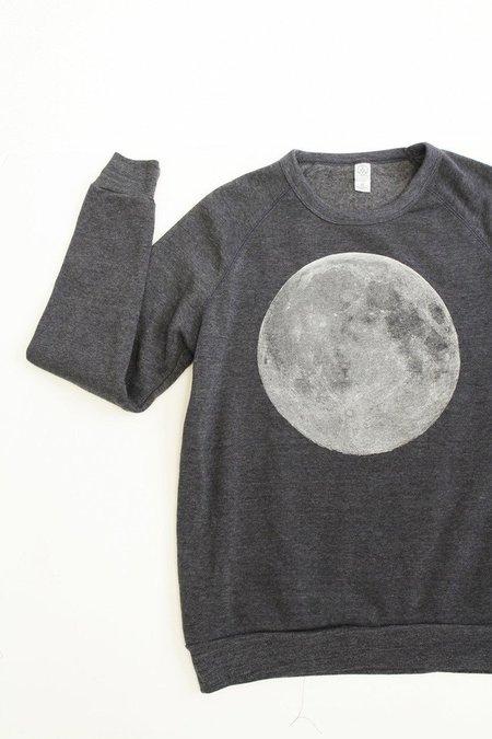 Cairo Full Moon Sweatshirt - HEATHER BLUE