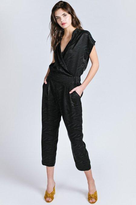 Allison Wonderland Getty Jumpsuit - Black
