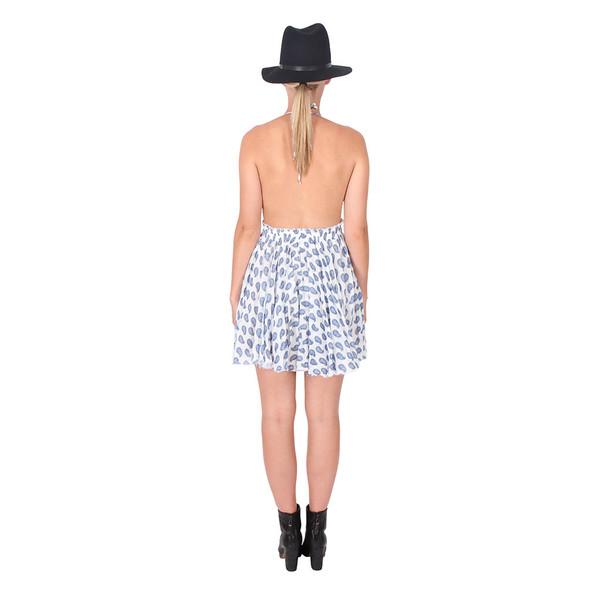LOVESHACKFANCY Paisley Halter Dress
