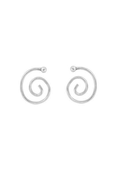 Young Frankk Spiral Earrings - SILVER