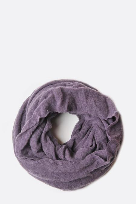 Botto Giuseppe Cashmere Tube Scarf - Dusty Plum