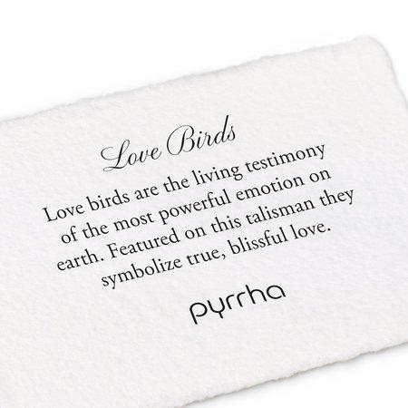 Pyrrha Love Birds Necklace