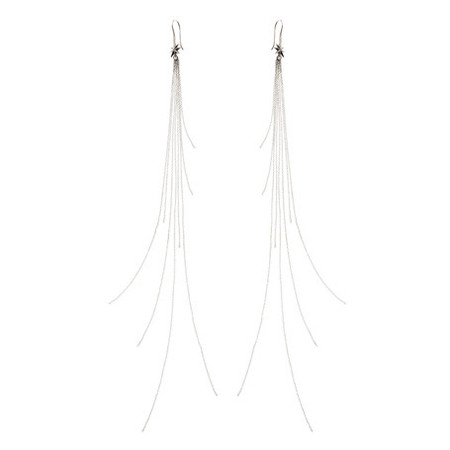 Ludevine Uber Long Flash Earring