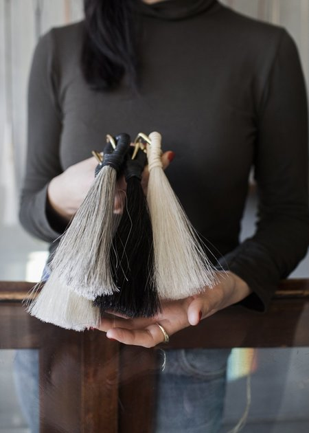 JULIA KHAN ANSELMO Laasso Big Bag Tassel