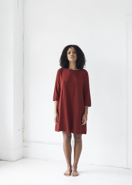 Me & Arrow Basic Dress - Garnet