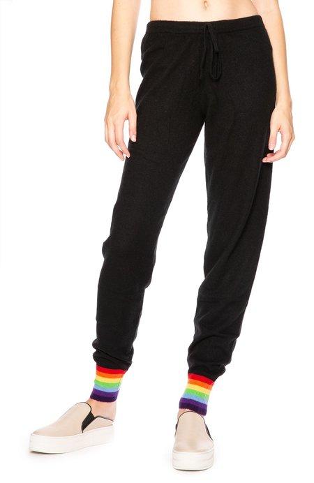 Madeleine Thompson Cashmere Rainbow Cuff Sweatpants