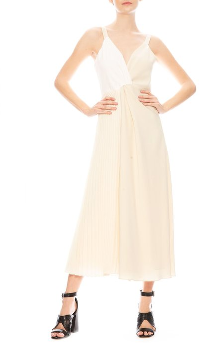 Shaina Mote Cassina Dress - Crema/Salt/Raffia