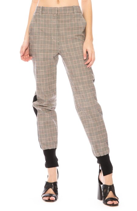 3.1 Phillip Lim Jogger Pant - Checkered