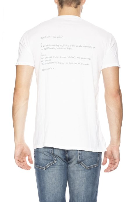 Quality Peoples Daydreamer Crew Neck Tee - White