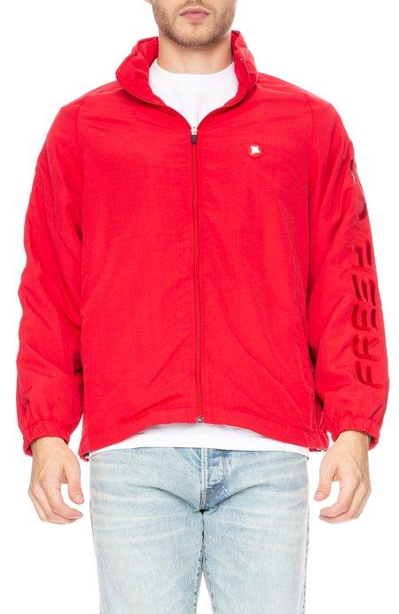 Freshjive Defender Nylon Track Jacket - Red