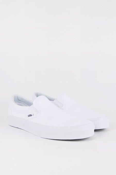 VANS Classic Slip-On - true white