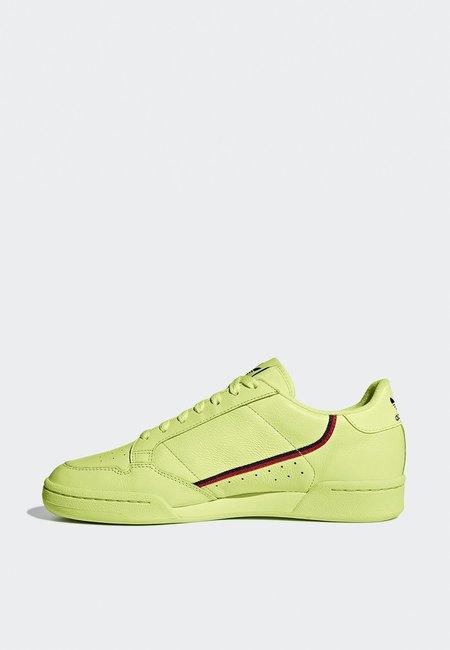 Adidas Originals Continental 80 - Yellow/Scarlet