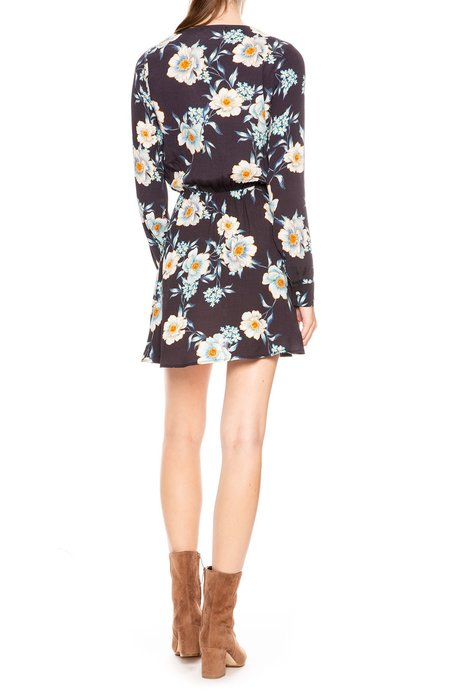Flynn Skye Elle Mini Dress - Midnight Floral