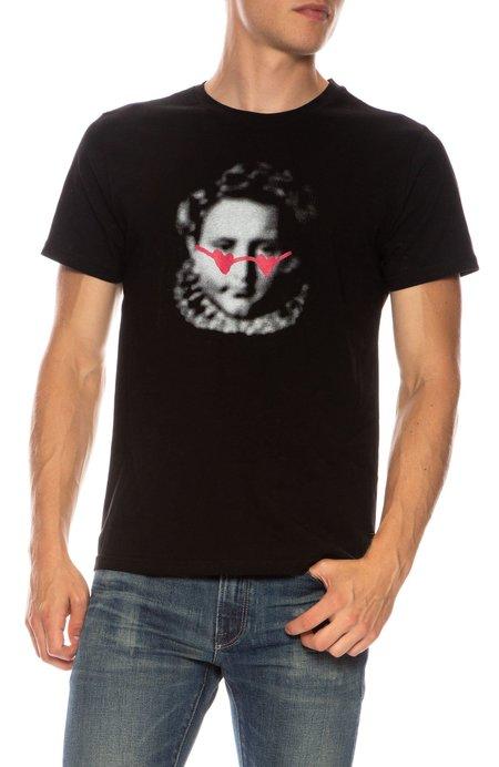 THE ART OF SCRIBBLE Emperor T-Shirt - BLACK