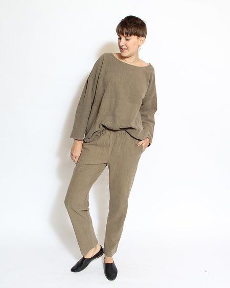 PO-EM Lounger Pants - Army Moss