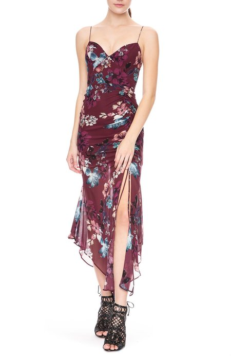 Nicholas Drawstring Dress - Floral