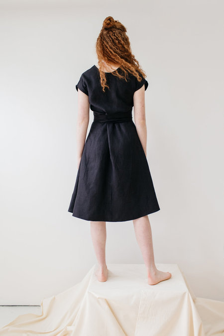 Lauren Winter Wraparound Dress