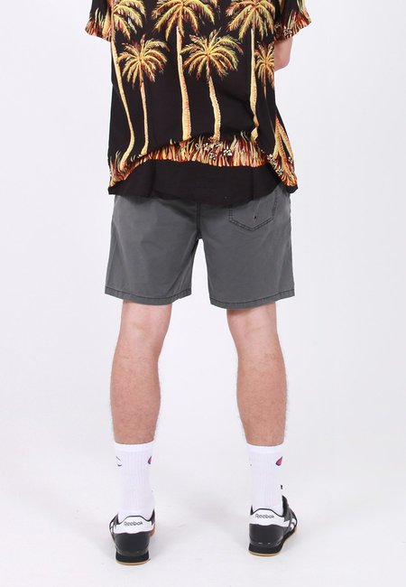Rollas Beach Boy Circle Shorts - Faded Black