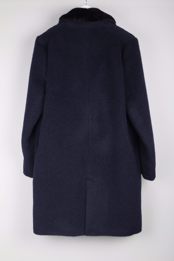Maison Kitsune Furry Wool Classic Coat