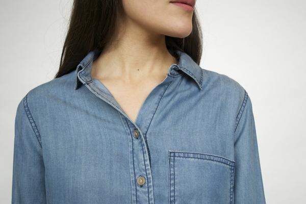 Velvet Heart Blake Cuffed Sleeve Shirt