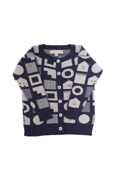 Kids' Micaela Greg Box House Cardigan