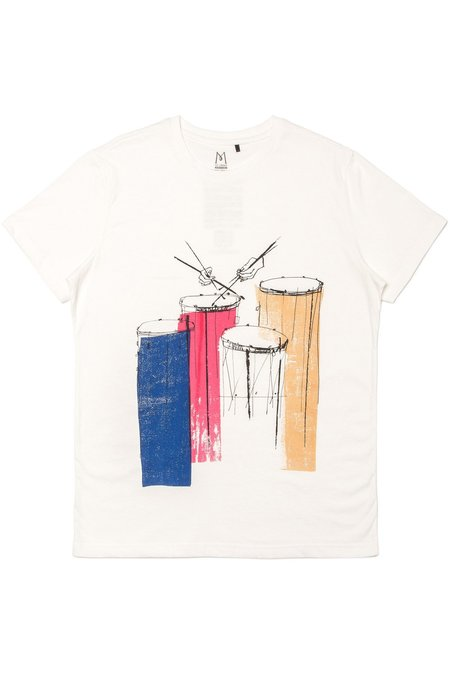 TEE LIBRARY In A Crescendo T-Shirt - White