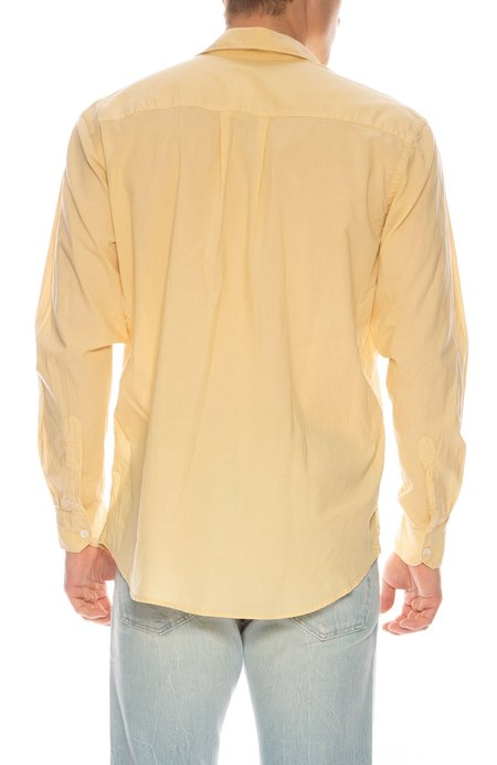 Our Legacy Initial Shirt - Yellow