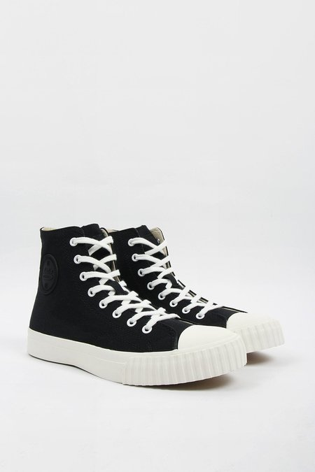 BATA BULLETS High Cut Canvas - Black/White